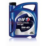 Моторное масло ELF EVOLUTION 900 NF 5W-40, 4 литра