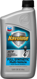 Жидкость для АКПП CHEVRON HAVOLINE FULL SYNTHETIC MULTI ATF