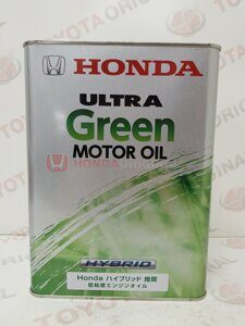 Honda Ultra Motor oil Green Hybrid 4L Japan yaponiya  0821699974